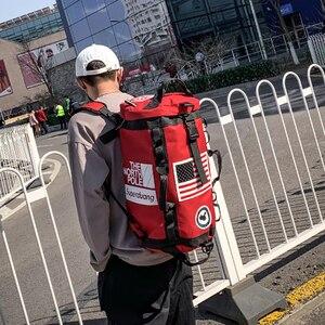 Image 2 - Plecak na siłownię worek marynarski na siłownię sportowy plecak dla koszykarza Sportsbag dla kobiet miłośnicy Fitness Travel Mochila Yoga torba na ramię 2020