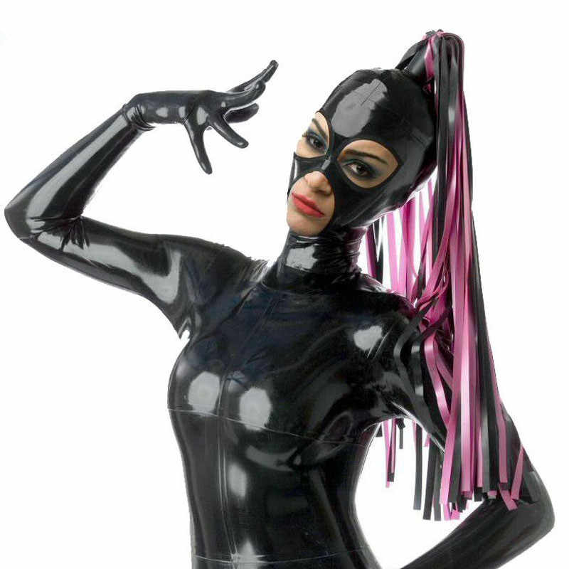 Tubed pigtail latex hood Made to measure only
