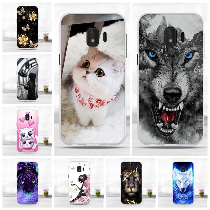 Soft Case For Samsung J2 Core Case Silicone Back Cover Phone Case For Samsung Galaxy J2 Core 2018 J 2 SM-J260F J260F J260 Capa