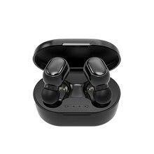 A6Sワイヤレスbluetoothイヤホンステレオミニデザインゲーミングヘッドフォン防水耳CVC8.0ノイズリダクションでスポーツヘッドセット