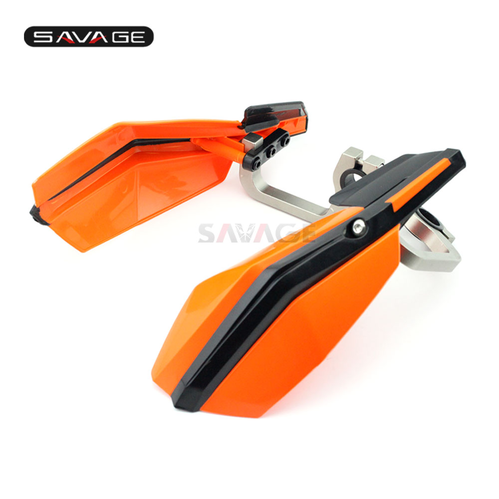 2019 Handlebar Handguards For KTM DUKE 125 200 250 390 2012-2020 18 17 16 15 14 13 Motorcycle Accessories Hand Guard Protector image