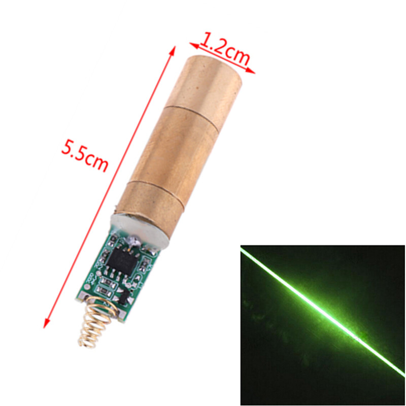 One-line Laser Module Scanner Green Module 532nm 30~50mW Green Laser Module Laser Diode Light