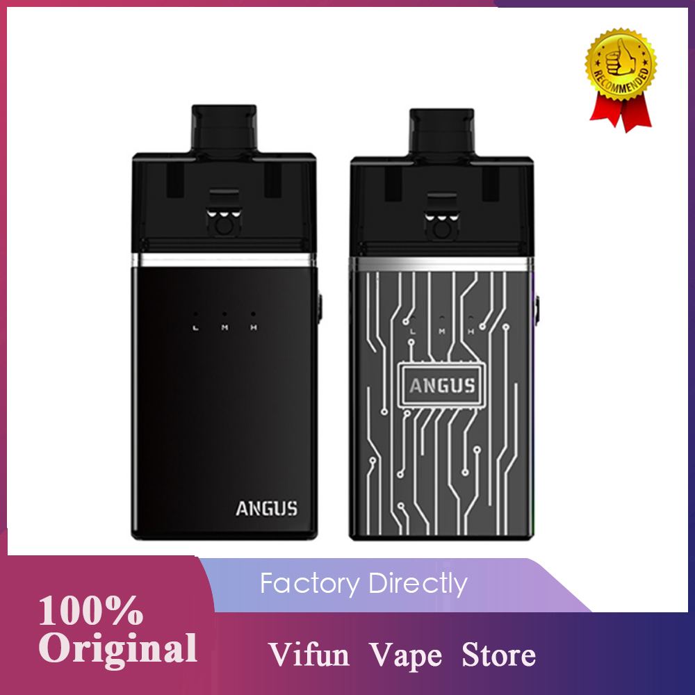 Original Nevoks Angus Kit With 1700mAh Battery & First Kit Device With Square Mesh RDA Design Vape Pod Kit Vs Vinci X /Pal 2 Pro