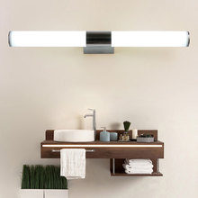 Mirror night light Waterproof Wall Lamp 12W 16W 22W 85-265V LED Tube Modern Acrylic Light Bathroom Lighting