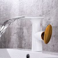 European style basin faucet bathroom faucet retro washbasin cold and hot water faucet waterfall faucet