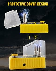 Image 5 - AUTOOL جهاز اختبار شمعة الإشعال ، 110 فولت ، 220 فولت ، فولت ، مع وظيفة الفتحة المزدوجة ، ومحلل قابس الإشعال ، للمركبات 12 فولت ، SPT101