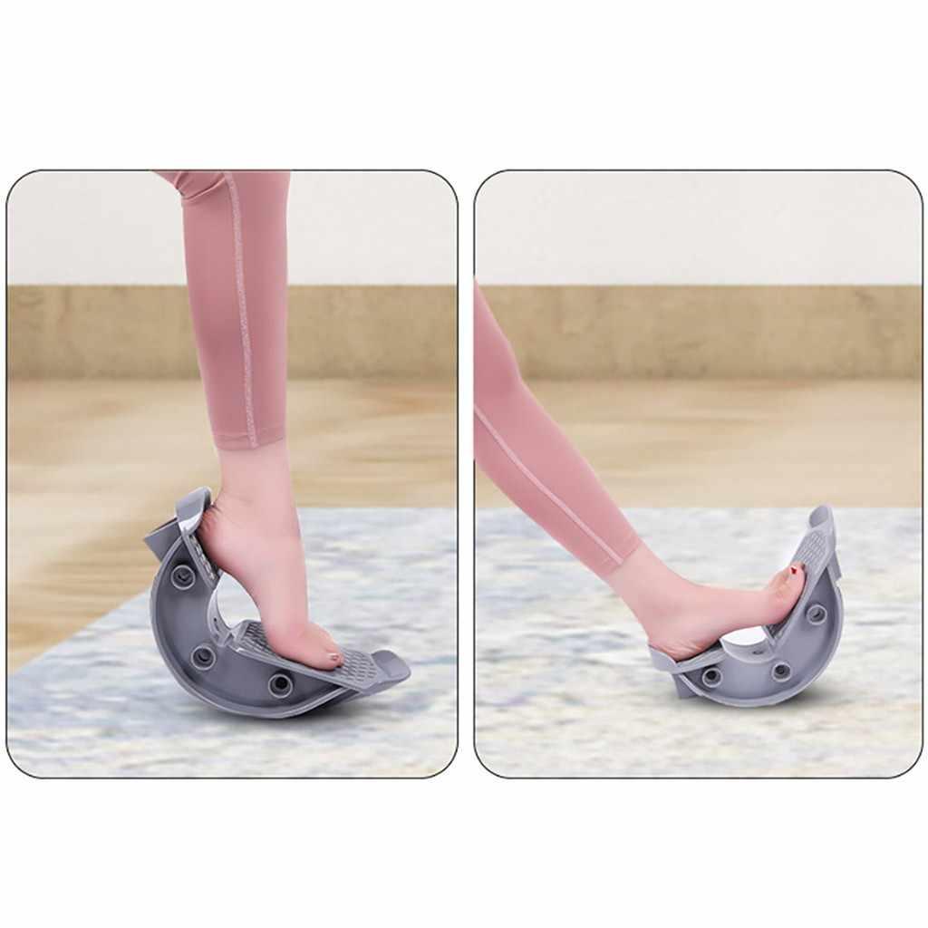 ספורט עיסוי דוושת רגל נדנדה עגל קרסול למתוח לוח עבור אכילס גיד שריר למתוח רגל אלונקה יוגה כושר # C