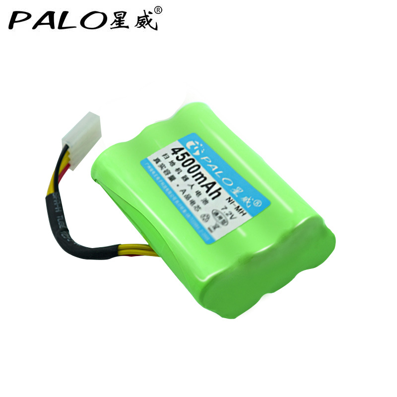 PALO <font><b>7.2V</b></font> <font><b>Ni</b></font>-<font><b>MH</b></font> 4500mAh Vacuum Cleaner Robot <font><b>battery</b></font> in Rechargeable <font><b>Batteries</b></font> Pack For Neato XV-11/12/14/15/21 Signature Pro image
