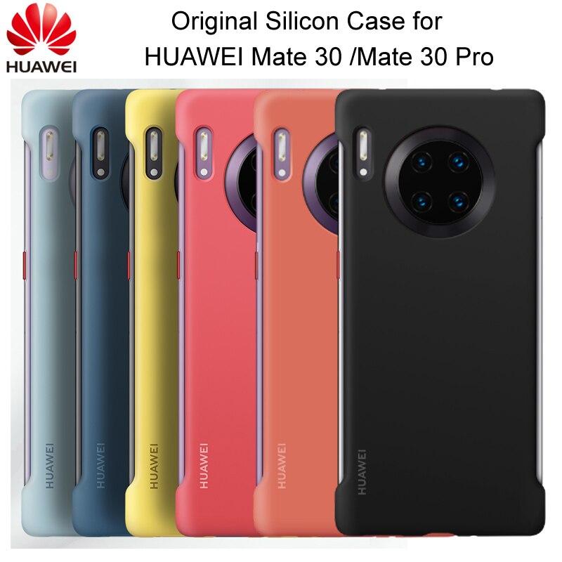 オリジナル Huawei メイト 30 メイト 30 プロシリコンケースソフト裏表紙と繊維内部キャパため Mate30 Mate30 プロフィットケース   -