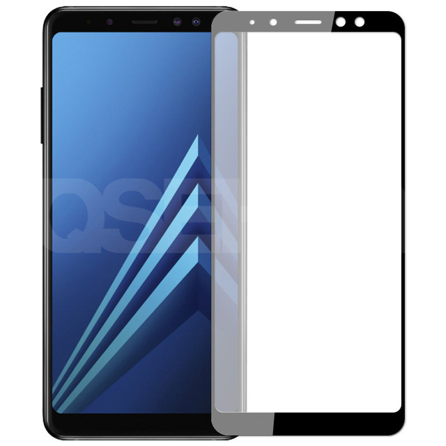 9D Protective Glass On the For Samsung Galaxy A5 A7 A9 J2 J8 2018 A6 A8 J4 J6 Plus 2018 Tempered Glass Screen Protector Film 6