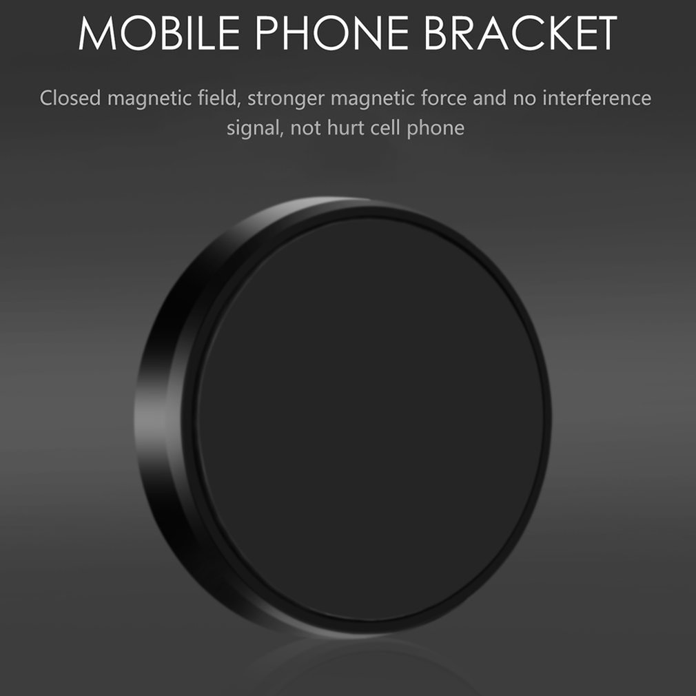Metal Mini Universal Magnetic Car Phone Holder Multi-Function Magnetic Car Navigation Mobile Phone Free Stickers