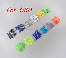 FÜR GBA D Pads Power ON OFF Tasten für Gameboy Voraus EINE B L R Tasten Rahmen für GBA Tasten