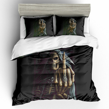 Bedding Set 3D Printed Skull For Home Duvet Cover Queen King 12 Sizes With Pillowcase 3Pcs Bedclothes Textile