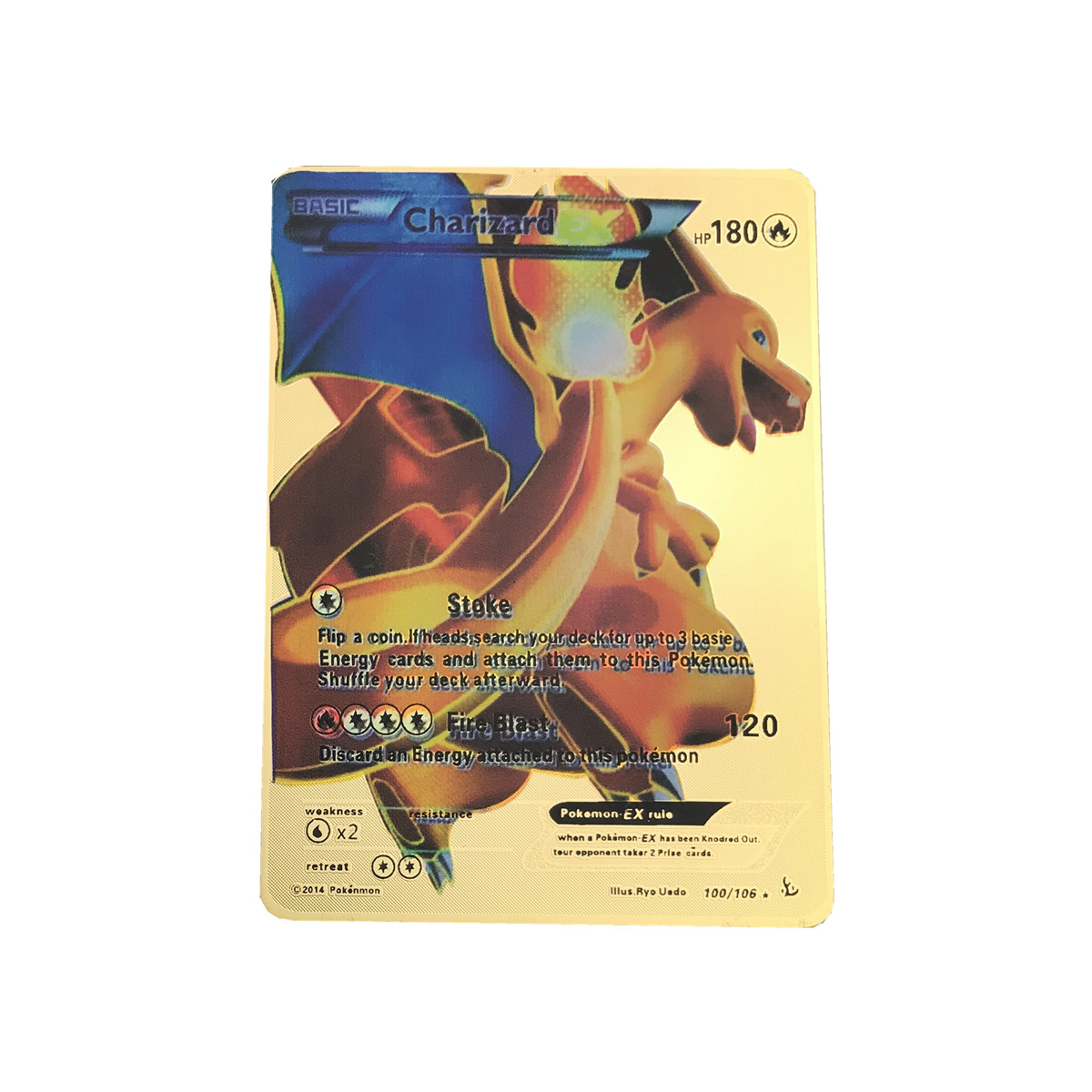 Image 3 - High quality Game Anime Battle Carte Gold Metal   Card Collection Card Action Figure Model Child Toy Gift-in Game Collection Cards from Toys & Hobbies