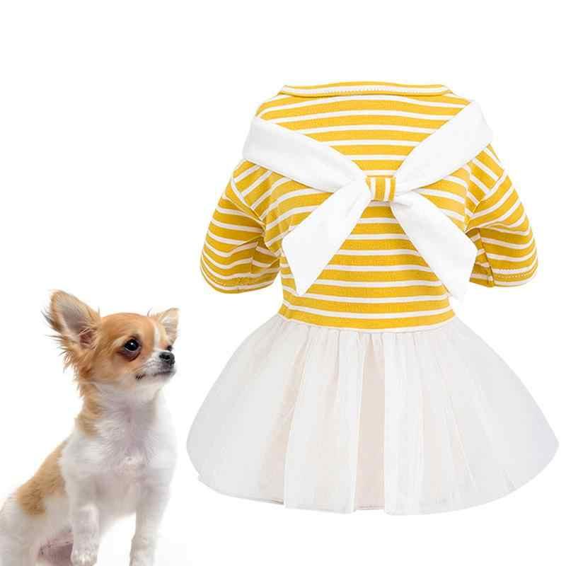 Vestido de gasa para perro, vestido de fiesta para perro, vestido de gasa para mascota