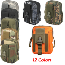 Military Waist Pack Men Outdoor Tactical Molle Pouch Belt Wa