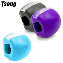 Tsang Jaw Exercise Ball Food-grade Silica Gel JawLine Muscle Training Fitness Ball Neck Face Toning Jawrsize Muscle Exerciser