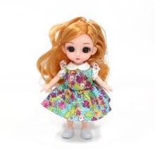 Новинка Одежда для кукол 16 см 6 дюймов 13 подвижных шарнирных