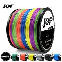 Jof100m 300m 500m 1000m многоцветная полиэтиленовая плетеная