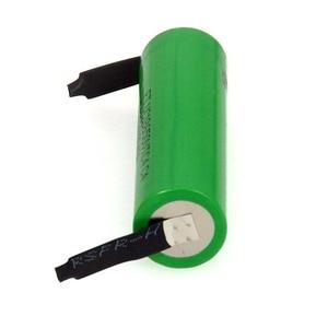 Image 4 - VariCore batería recargable de alto drenaje 30A, 100% Original, 3,6 V, 18650 VTC4, 2100mAh, VC18650VTC4 + hoja de níquel de DIY