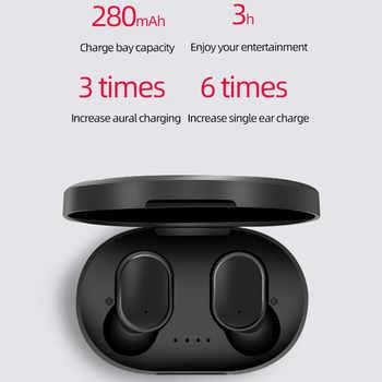 Wireless Earphone PK Redmi Airdots Earbuds Bluetooth 5.0 TWS Headsets Noise Cancelling Mic Bluetooth Headphones PK i10 i12 TWS