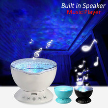 Ocean-Wave-Projector Led-Night-Light Baby-Lamp Starry-Sky Music Kids No with Mini Novelty