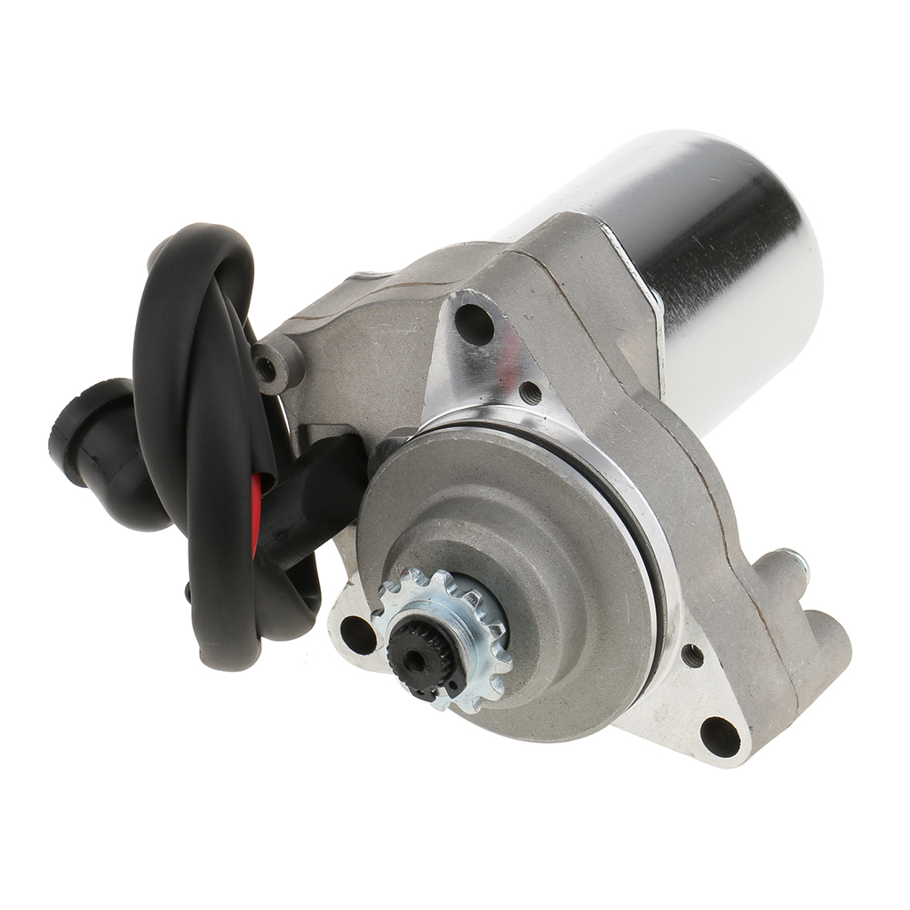 Electric Starter Motor Under For 50cc 70cc 90cc 110cc Scooter ATV/ Quad Engine, Heavy Duty
