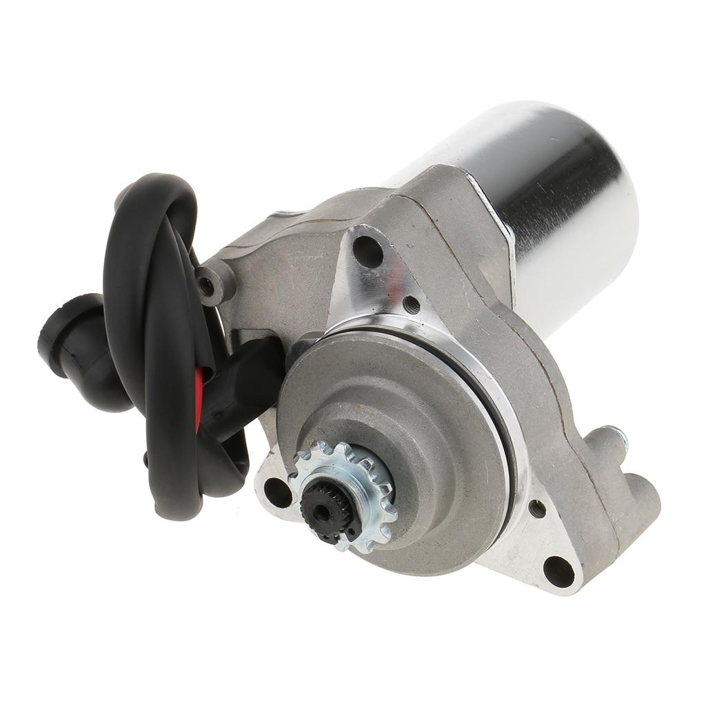 Electric Starter Motor Under For 50cc 70cc 90cc 110cc Scooter ATV/ Quad Engine, Heavy Duty