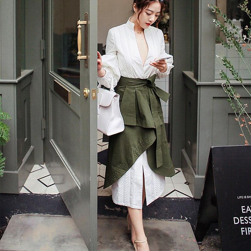 Կանանց 2 կտոր փեշի հավաքածու V - Կանացի հագուստ - Լուսանկար 2