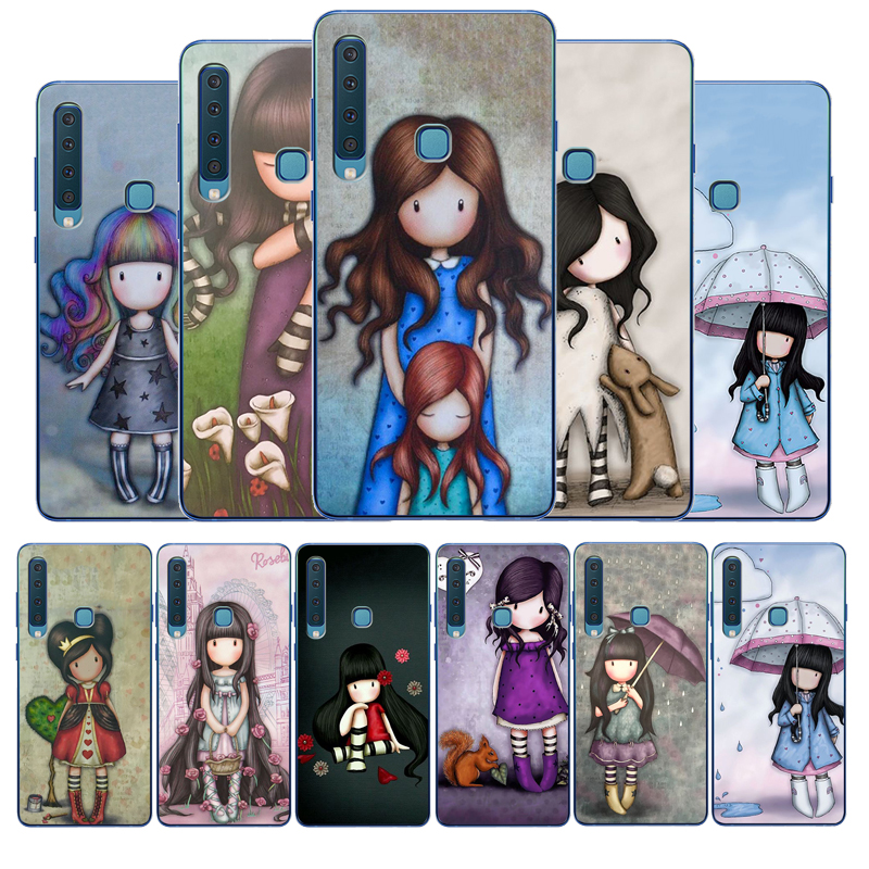 Cartoon Lovely Santoro Gorjuss Coque TPU Soft Silicone Phone Case For Samsung Galaxy A6 A7 A8 Plus A9 2018 A20 A30 A40 A50 A70(China)