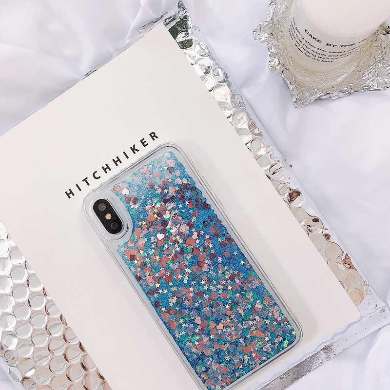 Trái Tim Tình Yêu Lấp Lánh Ốp Lưng Điện Thoại Samsung Galaxy A70 A60 A50 A40 A30 A20 A10 A6 A7 A8 A9 S10 s9 S8 Plus S7 Edge Note8 9 10 Bao
