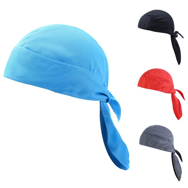 Quick Dry Pure Cycling Cap Head Scarf Summer Men Running Riding Bandana Headscarf Ciclismo Pirate Cap Headband Men Head Scarf ED