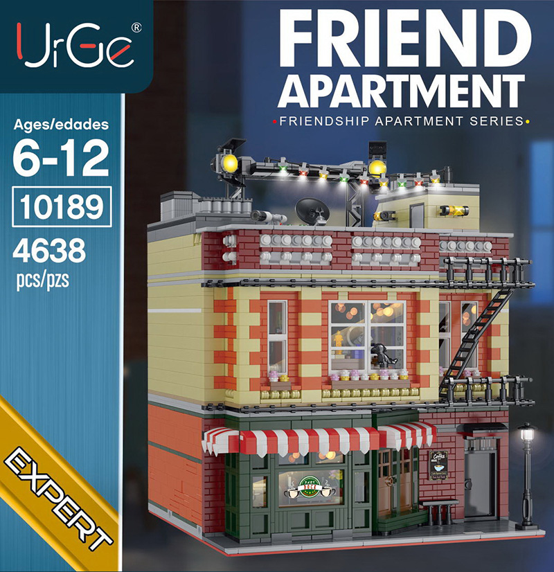 2020 NEW Classic TV The Big <font><b>21319</b></font> Bang Theory friend apartment city street view Drama Friends Central building blocks kids toys image