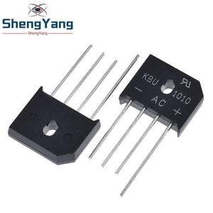 Image 2 - 5PCS/LOT KBU1010 KBU 1010 10A 1000V ZIP Diode Bridge Rectifier diode New