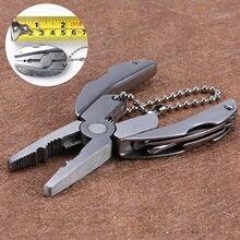 Wielofunkcyjny odkryty szczypce Multitool szczypce do zaciskania Camping żółw szczypce przenośny składany brelok do kluczy śrubokręt Snips narzędzie