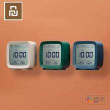 재고 원래 Youpin Qingping 블루투스 알람 시계 온도 습도 모니터링 야간 조명 3 in 1 알람 시계 3 색