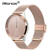 Milanese Stainless Steel Watchband for Garmin Vivomove HR/3/3S/Vivoactive 4/4S/3/Venu/Luxe/Style Quick Release Watch Band Strap