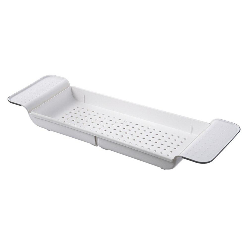 Выдвижной ванная полка стеллаж слив ванна каркас ванная пластик ванна душ место для хранения стеллаж ванна поднос ванна полка