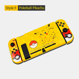 Image 5 - For Nintendo Switch Cute Case Nintend Switch PC Case Protective Housing Thin Shell Skin Colorful NS Switch Accessories