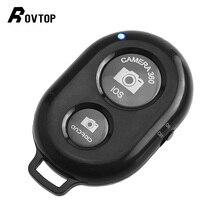 Rovtop Bluetooth пульт дистанционного управления спуском фотографического затвора с Штатив для телефона, фотокамеры Стенд палка для селфи с затвором автоспуска дистанционного Управление для IOS и Android