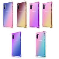 Luxury Clear Gradient Soft Case For Samsung Galaxy J8 J7 J730 J6 J5 J4 J3 J2 Plus Prime Core 2018 2017 2016 Note 10 9 8 Pro G530