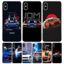 Cool Japan JDM Sports Car Comic Cover Phone Case For
