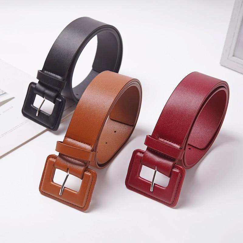 Plus Size Belt Big Waist Leather Belts For Women Wide Cinturon Mujer Fashion Black Ceinture Femme Dress Waistband Designer 2020