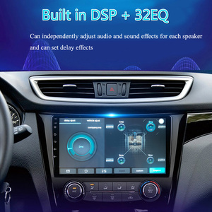 Image 2 - 2 דין 8 core אנדרואיד 10 רכב רדיו האוטומטי עבור פיג ו 3008 2009 2010 2011 2012 13 2015 ניווט GPS DVD מולטימדיה נגן