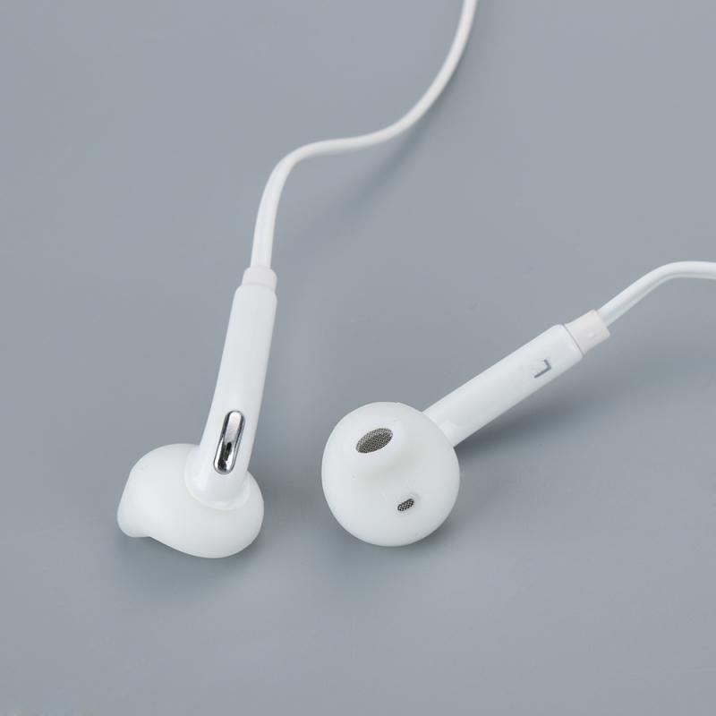 Fone de ouvido em branco earbud handsfree para samsung galaxy s6/s6 edge