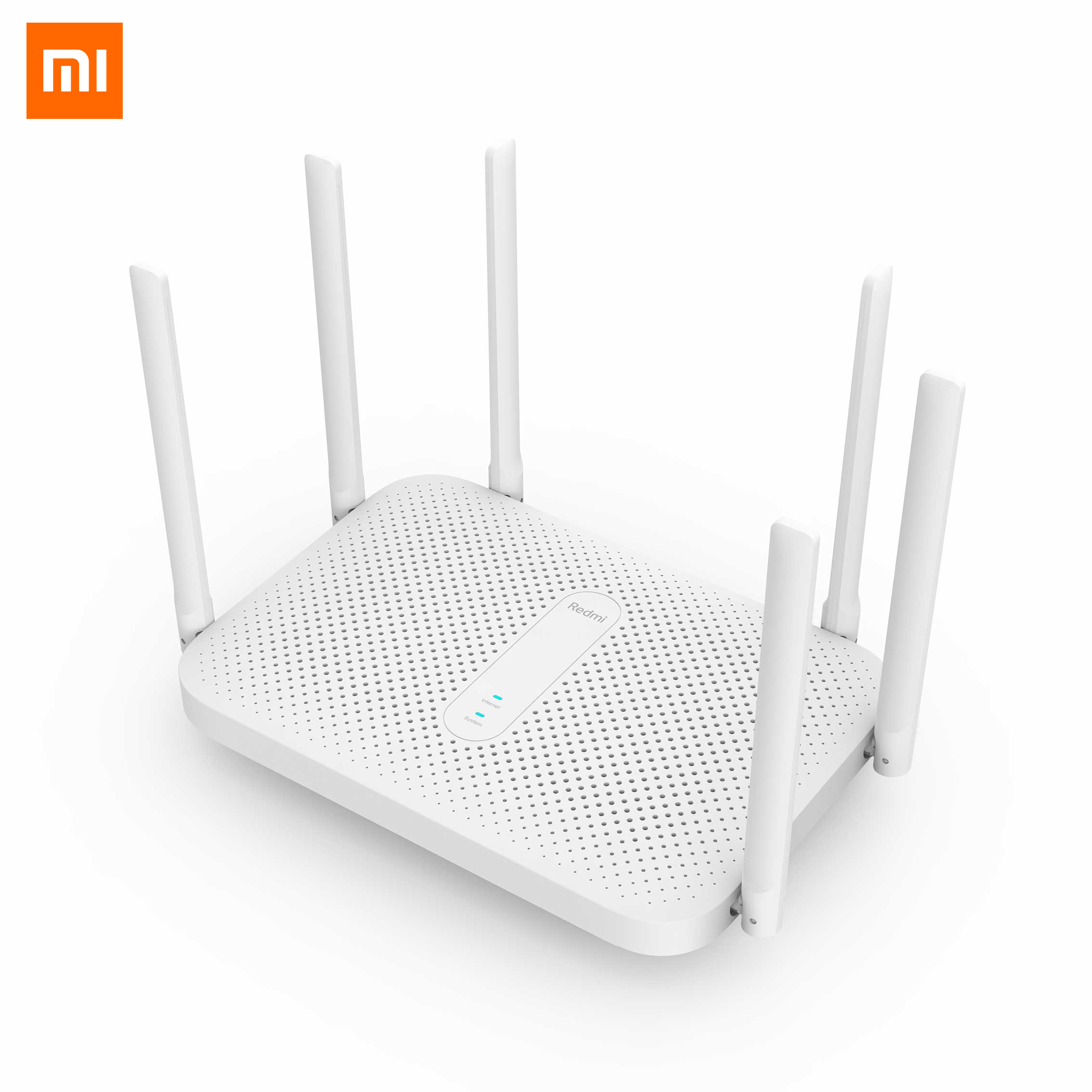 Original Xiaomi Redmi Router AC2100 2.4G 5G Dual Band 2033Mbps Wireless Router 6*High Gain Antennas 128MB OpenWRT WiFi Router