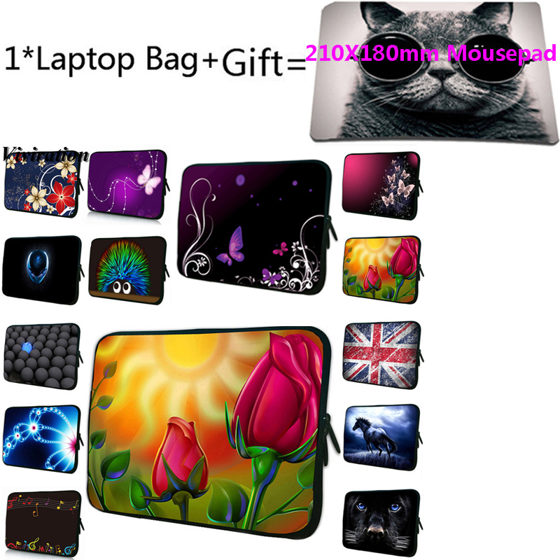 <font><b>Funda</b></font> 15,6 Laptop Tasche + Mousepad Für Huawei Mediapad T3 <font><b>Xiaomi</b></font> iPad Mini 5 Macbook <font><b>Pro</b></font> 13,3 15 13 12 14 17 17,3 10 7 <font><b>Notebook</b></font> Fall image