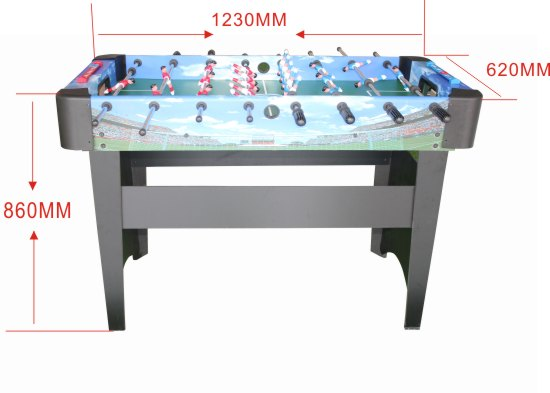 Table Football Machine Adult Children Double Large Table Type Puzzle Game Table Table Football 8 Pole Toy