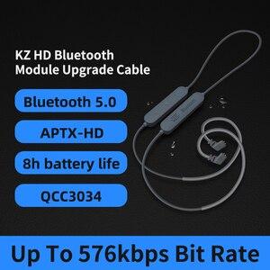 Image 5 - سماعات أذن KZ مزودة بتقنية البلوتوث 5.0 Aptx HD QCC3034 سماعات أذن لاسلكية محدثة كابل مناسب لسماعات الرأس KZ ZAX ZSX ZS10 PRO AS10 ZSTx EDX