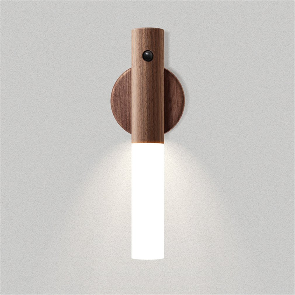 Wireless LED Door Lock Light Auto Sensor Motion Detector Lamp Kitchen Stairway Intelligent Small Night Light LED Light